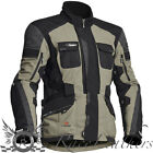 HALVARSSONS PRIME ARMY BLACK WATERPROOF REFLECTIVE MOTORCYCLE TOURING JACKET OUT