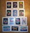 Zodiac Batik Art Card blank inside all star signs Leo Cancer Virgo Libra etc NEW