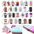 Flip Leather Case Cover Skin Strap Wallet Stand for Samsung Galaxy Note 4 3 S5