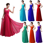 1 Wedding Bridesmaid Elegant Party  Prom Flower Gowns Formal Evening Dress