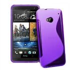2 X NEW HTC ONE M7 GEL CASE + FREE SCREEN PROTECTOR