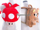 Kid Toddler Small Satchel Soft Plush Backpack Rucksack Storage Bag/Mushroom Bear