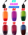 BLUESKY XTC CHAMELEON COLOUR CHANGE UV/LED SOAK OFF GEL NAIL POLISH FREE WRAPS