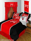 Chicago Bulls Bed in a Bag & Valance Twin Full Queen King Comforter Set