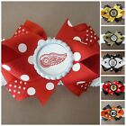 NHL Team Hair Bow With or W/O Headband Baby Toddler *Your Choice *SHIPS FREE $5.72 USD on eBay