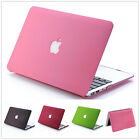 """PC Matte Hard Laptop Case Cover Skin For Apple MacBook Air 11""""13""""/Pro 13""""15""""inch"""