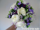 SCOTTISH THEMED WEDDING FLOWERS HAND TIED BRIDAL BOUQUET BRIDESMAID POSIES