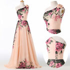 2015 Victorian VINTAGE Floral A-Line Cocktail Evening Prom Bridesmaid Gown Dress