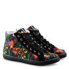 Woman canvas shoes Sneakers LOVE MOSCHINO trainers jungle black