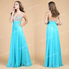 Luxury Beaded Formal Evening Masquerade Bridesmaid Party Gown Long Prom Dresses