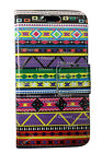 Tribal Aztec RetroTribal Leather Book Flip Wallet Case Cover For Various Models