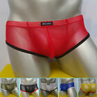 Sexy Sheer Mens Underwear Boxer Briefs Retro Shorts Pouch Lingeries Size SML NEW