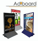 A-Board Pavement Sign - Shop Display Stand - 2 FREE Personalised Posters.