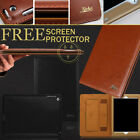 LUXURY GENUINE REAL LEATHER SMART STAND CASE COVER FOR IPAD 2 3 4/MINI/AIR 2 UK