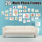 Set of 11 17 26pcs Photo Frame Set Hanging Picture Modern Display Home Wall Art