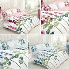 Petals Holly Floral Flowers Cottage Garden Leaves Duvet Cover Quilt Bedding Set