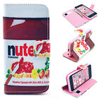 Nute Jam Luxury Wallet Flip wallet card leather case for SamSung Iphone Nokia