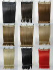 """Brand New Lot 24"""" Synthetic Fiber 130g 6Clips On Cap Wig Pure More Hair Colors"""