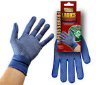 Ladies Protective Lightweight Gardening Work Gloves with fitted wristband