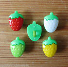 Novelty Buttons - Tiny Strawberry - Dolls/Baby & Kid's - Knitting/Sewing - Cards