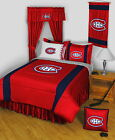 Montreal Canadiens Comforter Sham & Valance Twin Full Queen King Size