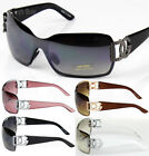 New DG Eyewear Womens Mens Shield Designer Sunglasses Shades Fashion Retro Wrap