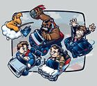 "1980s Pop Culture/Super Mario Kart Mashup ""Super 80s Kart"" TeeFury T-shirt $22.0 USD on eBay"