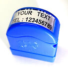 Custom Made Self Ink/Pre Ink Stamp Size 8 x 25mm Mini.Size