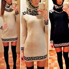 Sexy Women Slim Bodycon Party Evening Mini Dress Muslim Abaya Islamic With Scarf