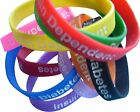 Type 1 Diabetes Patient  Silicone Medical Help Wrist Bands 2 bands pack