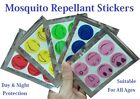 Mosquito Insect Repellent Stickers, Patches Bugs Fishing Holiday Camping