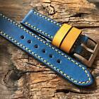 WATCH STRAP ' denim'  FOR PANERAI
