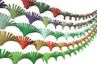 Crepe Paper Hand Fringed Ceiling Decoration Streamer Party Wedding Christmas AM4
