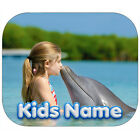 PERSONALIZED KIDS NAME MOUSE PAD CUSTOM PRINTED PHOTO BOY GIRL FAMILY (KM-01)