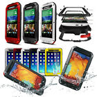 Aluminium Extreme Protection Gorrila Glass Waterproof Case for Phones & Tablets