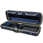 NEW SKY Acoustic Electric Violin Fiddle Luxury Oblong Case Best Solid Wood 4 4