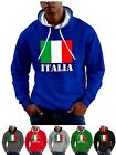 Italia Hoodie Flag of Italy World Cup Rugby Euro Football Smartphone Compatable