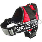 Service Dog Vest Soft Adjustable Reflective Harness large pet Free Patch