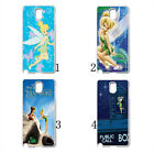 Disney Peter Pan Tinkerbell Neverland Hard Case Cover For Samsung Galaxy Note 4