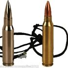 BRITISH ARMY 556 BULLET NECKLACE SA80 REPLICA ROUND MENS KIDS NOVELTY GIFT