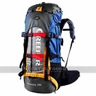 Camping Hiking Backpack Fill Frame CR Outdoor Bag Hiker Trip 60L Heavy Duty
