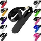 E Cig Shisha Pen Case Holder Neck Strap Lanyard Leather Pouch Fit Ego Cigarettes