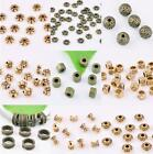 Внешний вид - Hot Bronze Brass Loose Spacer Beads Jewelry Findings 3,4,5,6,7,8mm DIY