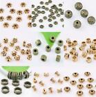 Hot Bronze Brass Loose Spacer Beads Jewelry Findings 3,4,5,6,7,8mm Diy