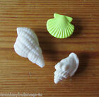 Novelty Buttons - Sea Life #2 - Sea Shells - Kids - Marine - Knitting - Sewing