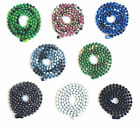 "Large 30"" Stainless Steel Ball Chain Assorted Colors, Camo, Black, White, 4.8MM"