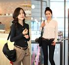 Fashion Women Long Sleeve Casual Business Career Tops T Shirt Blouse Black White