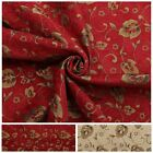 FLORAL CHENILLE VINES VINTAGE TRADITIONAL JACQUARD TAPESTRY UPHOLSTERY FABRIC
