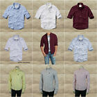 ABERCROMBIE & FITCH MEN`S OXFORD SHIRT NEW by Hollister  SIZES:  S, M, L, XL,XXL