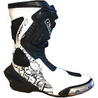 Diora NF2 Motorcycle Boots Waterproof Breathable Racing Boots Motorbike BLK/WHT